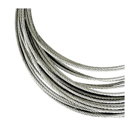 Câble Inox mètre supplémentaire