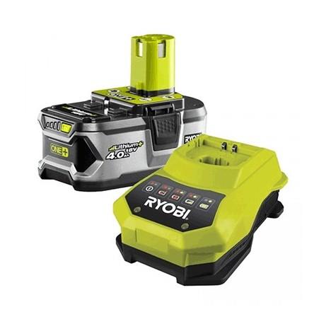 1 batterie lithium+ 18 V - 4,0 Ah et 1 chargeur rapide 1,8 A