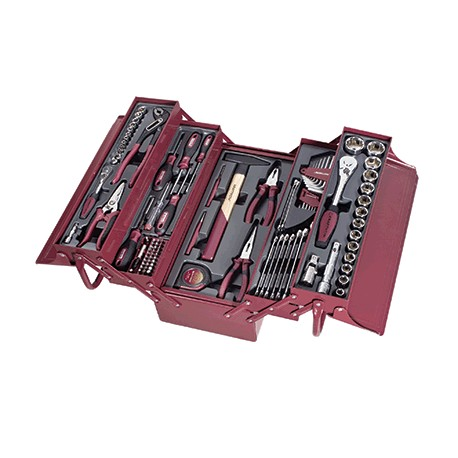 Caisse à outils - 106 pièces