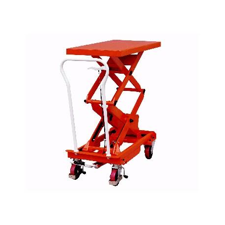 Tables élévatrices manuelles 500 kg