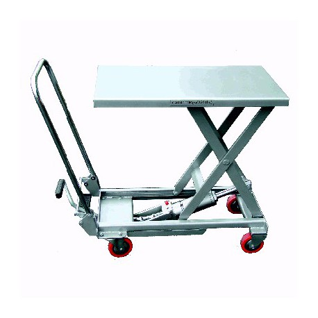 Table élévatrice aluminium 100 kg