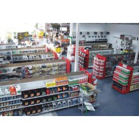Rayonnage gondole pour magasin