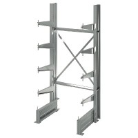 Rayonnage Cantilever compact